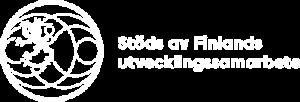 Stöds av Finlands utvecklingssamarbete