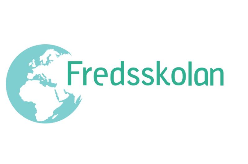 Fredsskolan logo.