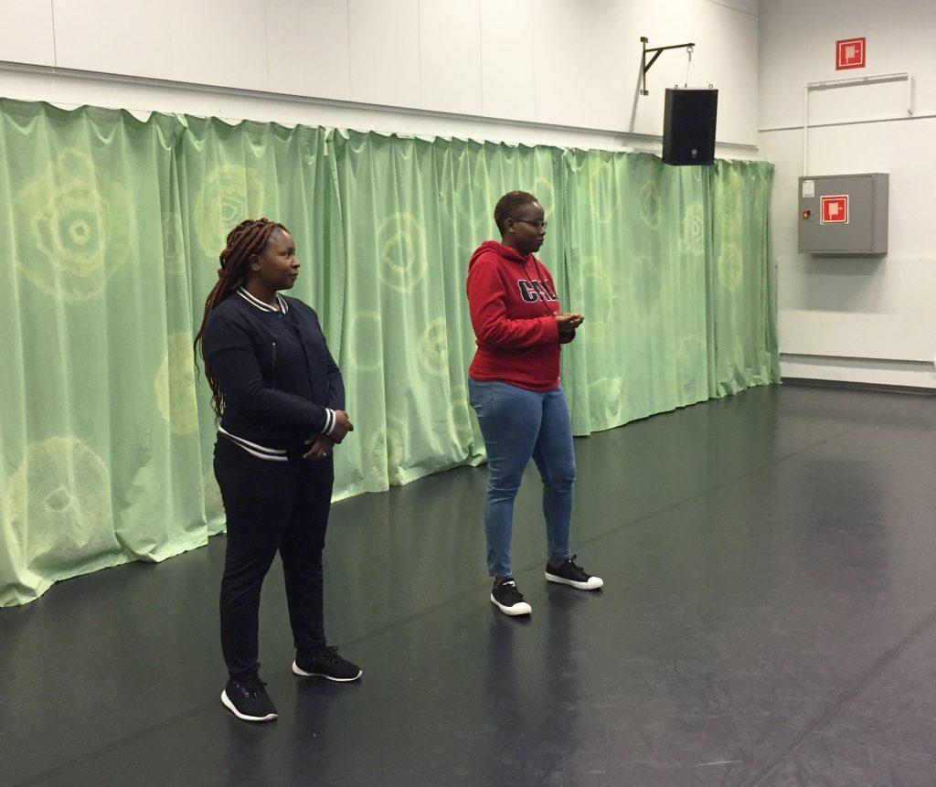 Mwenya ja Thandi Oulussa