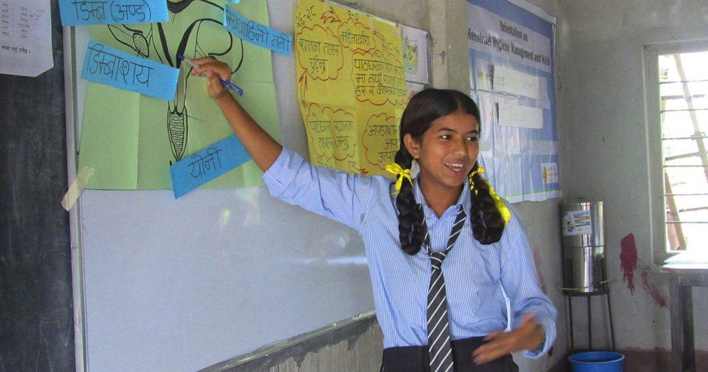 Nepal_Orientation on Menstrual Hygiene management_RK