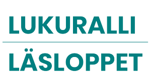 Logossa teksti Lukuralli Läsloppet.