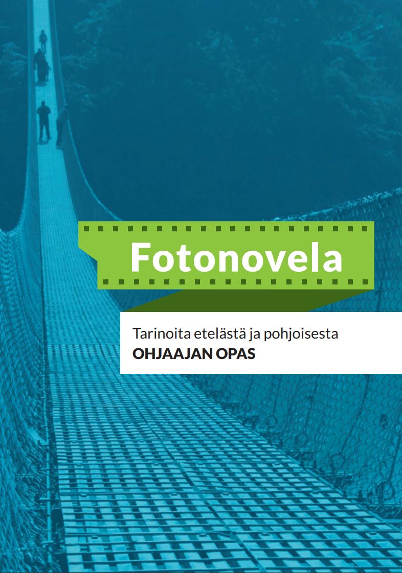 Oppaan kansisivu Fotonovela.