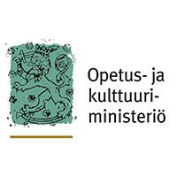 Logo Opetus ja kulttuuriministeriö.