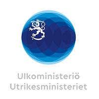 Logo ulkoministeriö.
