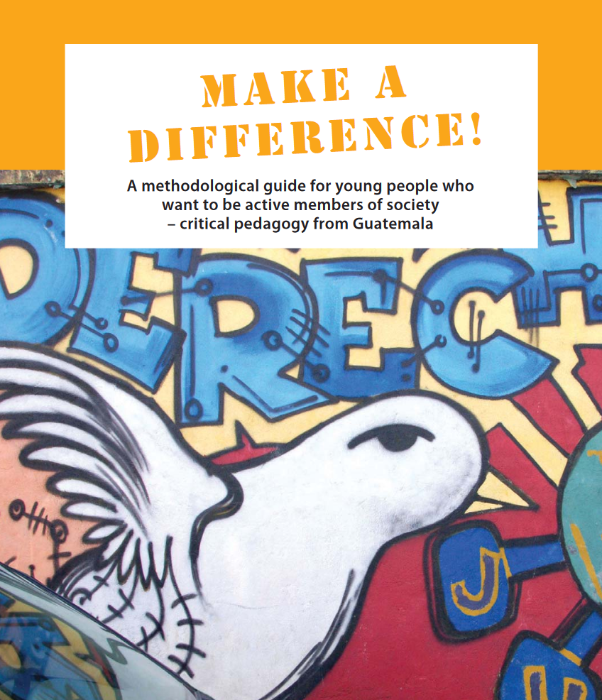 Book cover of Make a Difference guide.