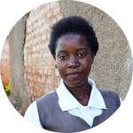 """We are now pumped with much knowledge that we can even teach others.""Hope, 15, Zambia"