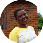 """Maybe I can be a role model for other girls and tell about the importance of education.""Taona, 20, Malawi"