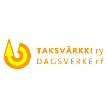 Taksvärkki ry:n logo.