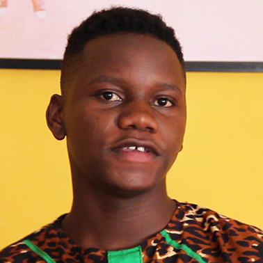 """""""I think youth with disability know best what they want to change. People with disability can be part of change when they present their creative ideas and participate in decision-making in their communities."""" – Musa, 18, Zambia"""