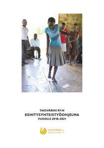 Ohjelmasuunnitelman kansikuvassa malawilaisia nuoria.